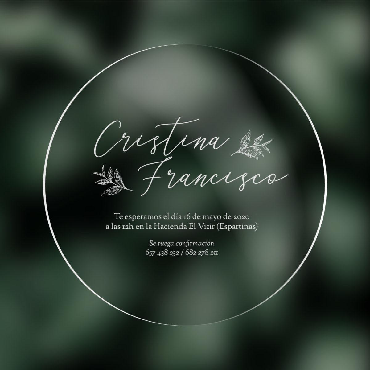 Invitacion Transparente Campestre