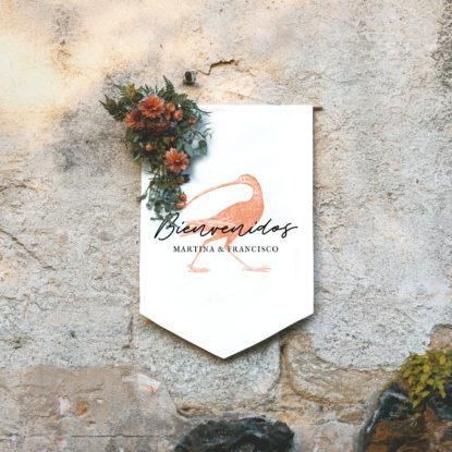 Banderola Bienvenida Numenius