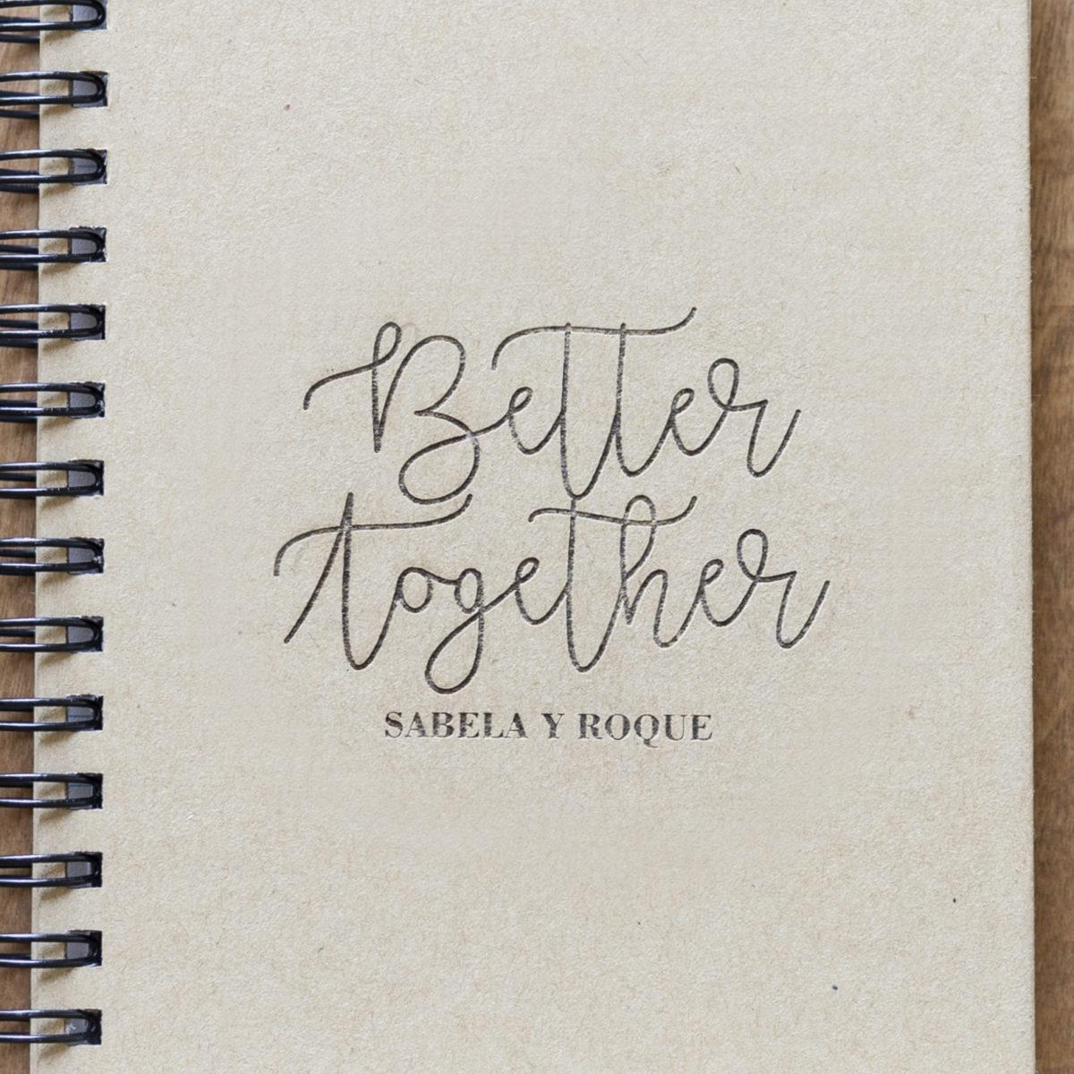 Libreta Better Together