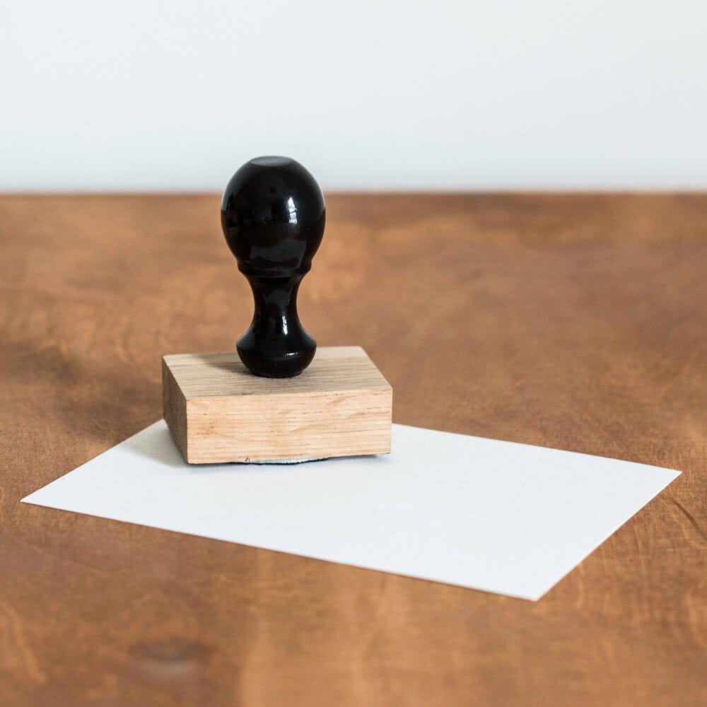 Kit de sello de madera