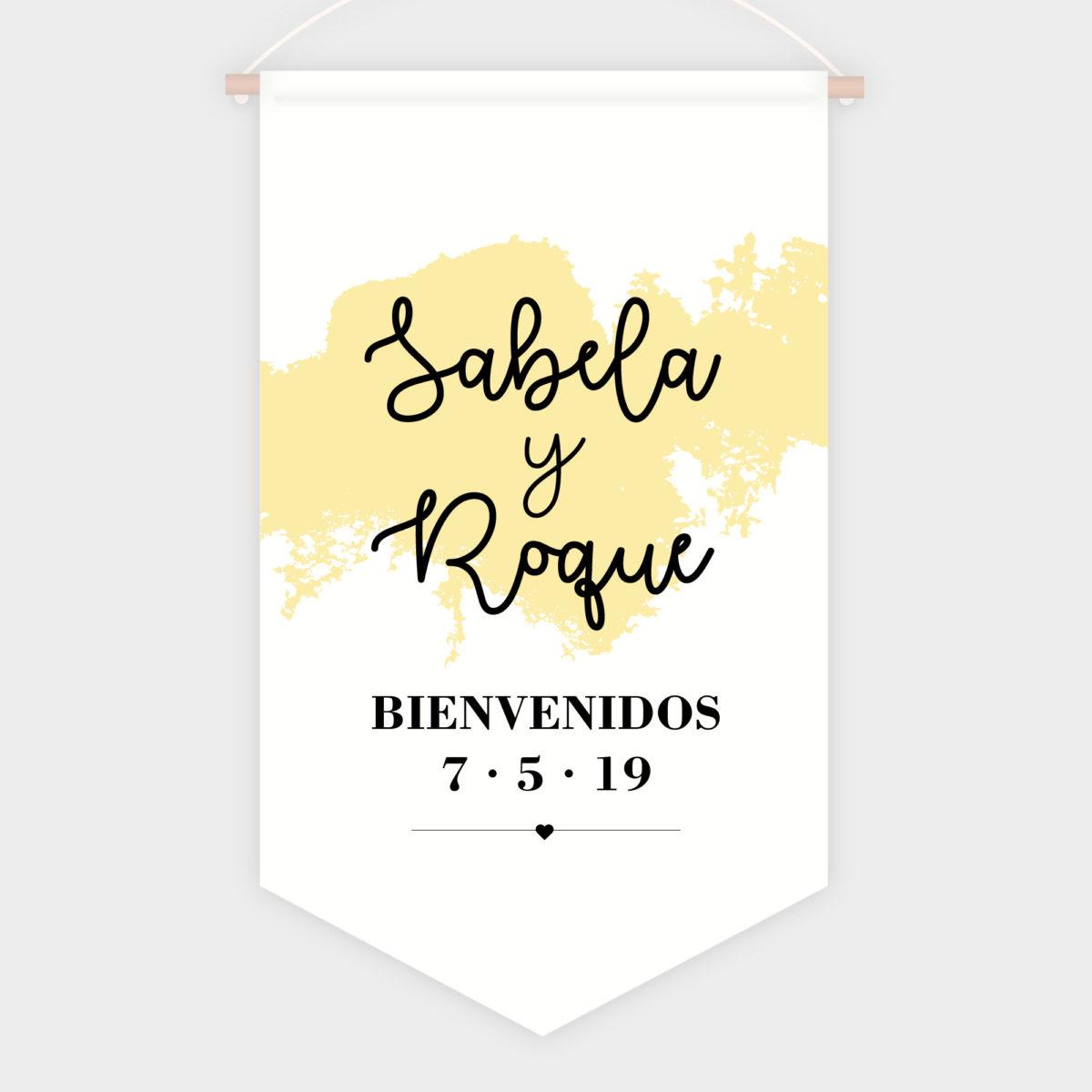 Banderola Bienvenida Limón