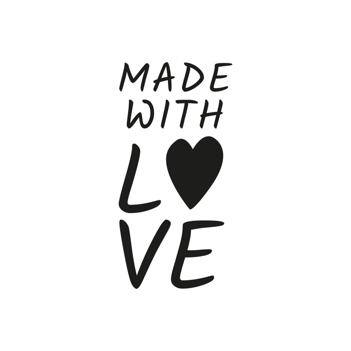 Sello Made With Love