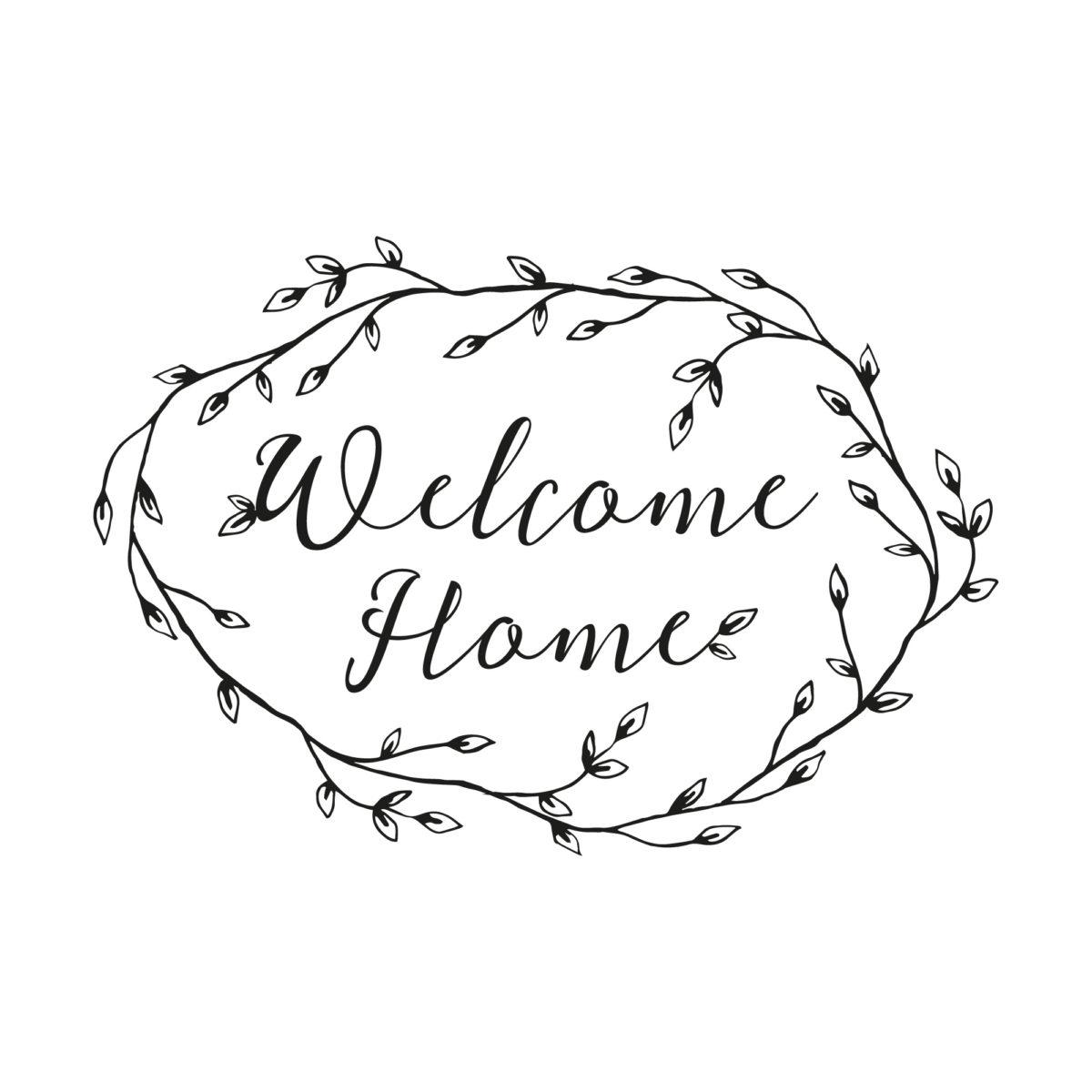Sello Welcome Home