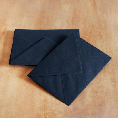 Sobre para invitaciones de boda C6 negro