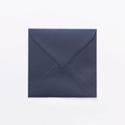 Sobre para invitaciones de boda cuadrado azul
