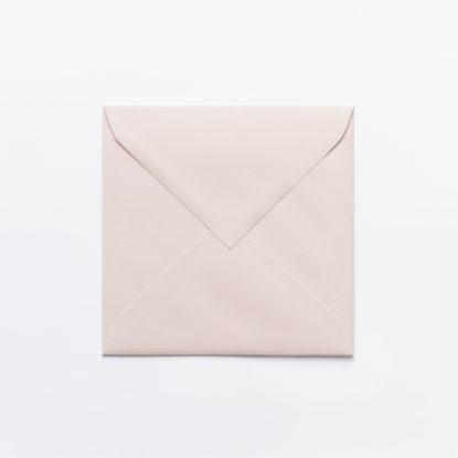 Sobre para invitaciones de boda cuadrado rosa