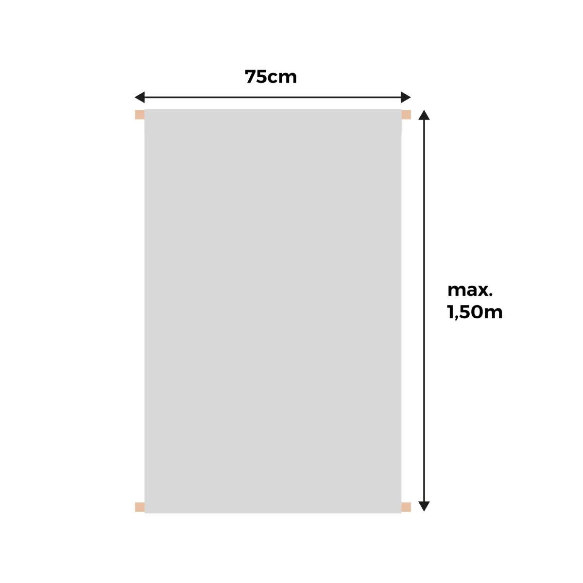Banderola con texto a elegir en varios colores