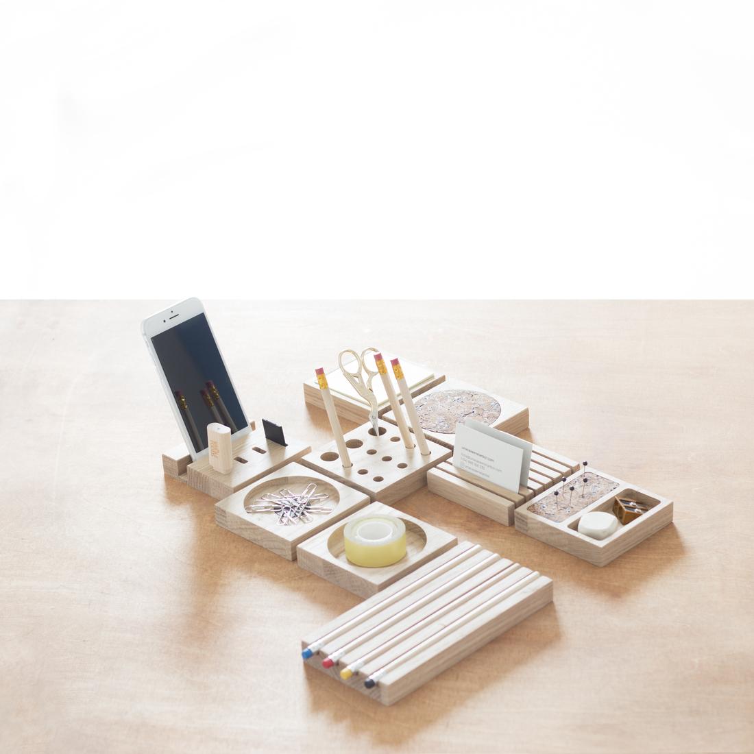 Pack modular accesorios de escritorio