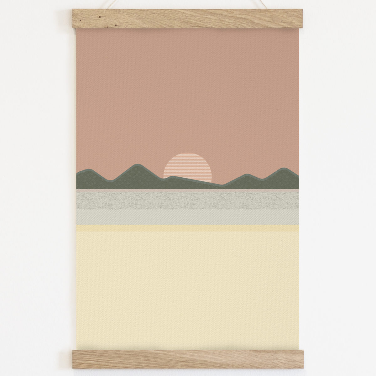 Lámina con marco reutilizable Sunset