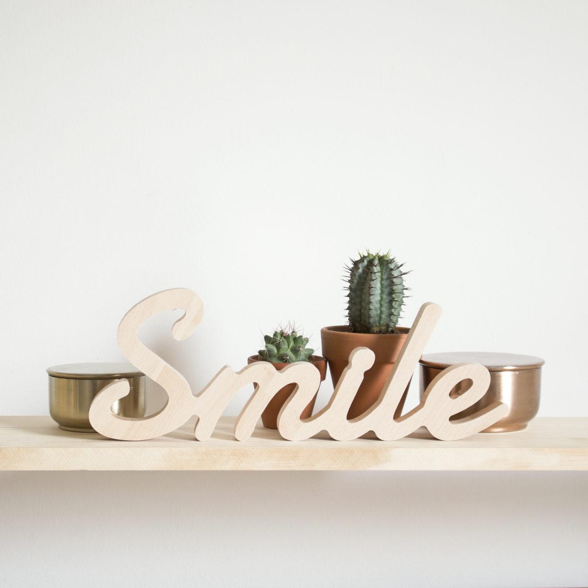 Smile de madera