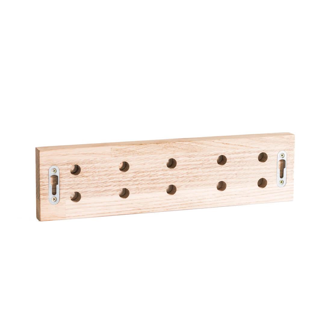 Base magnética para cuchillos de madera
