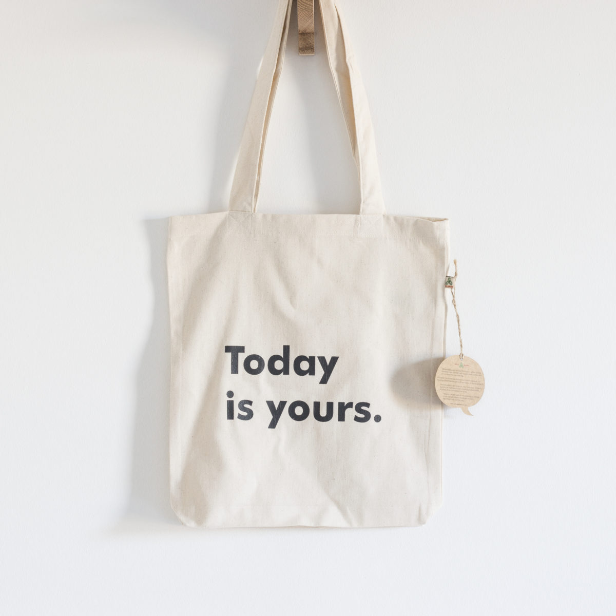 Bolso de tela Today is yours