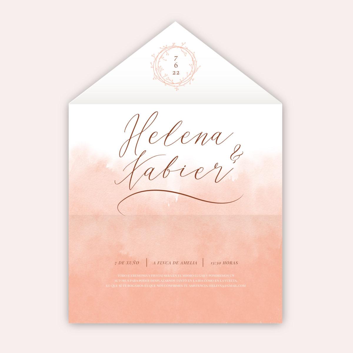 Invitación-sobre Acuarela