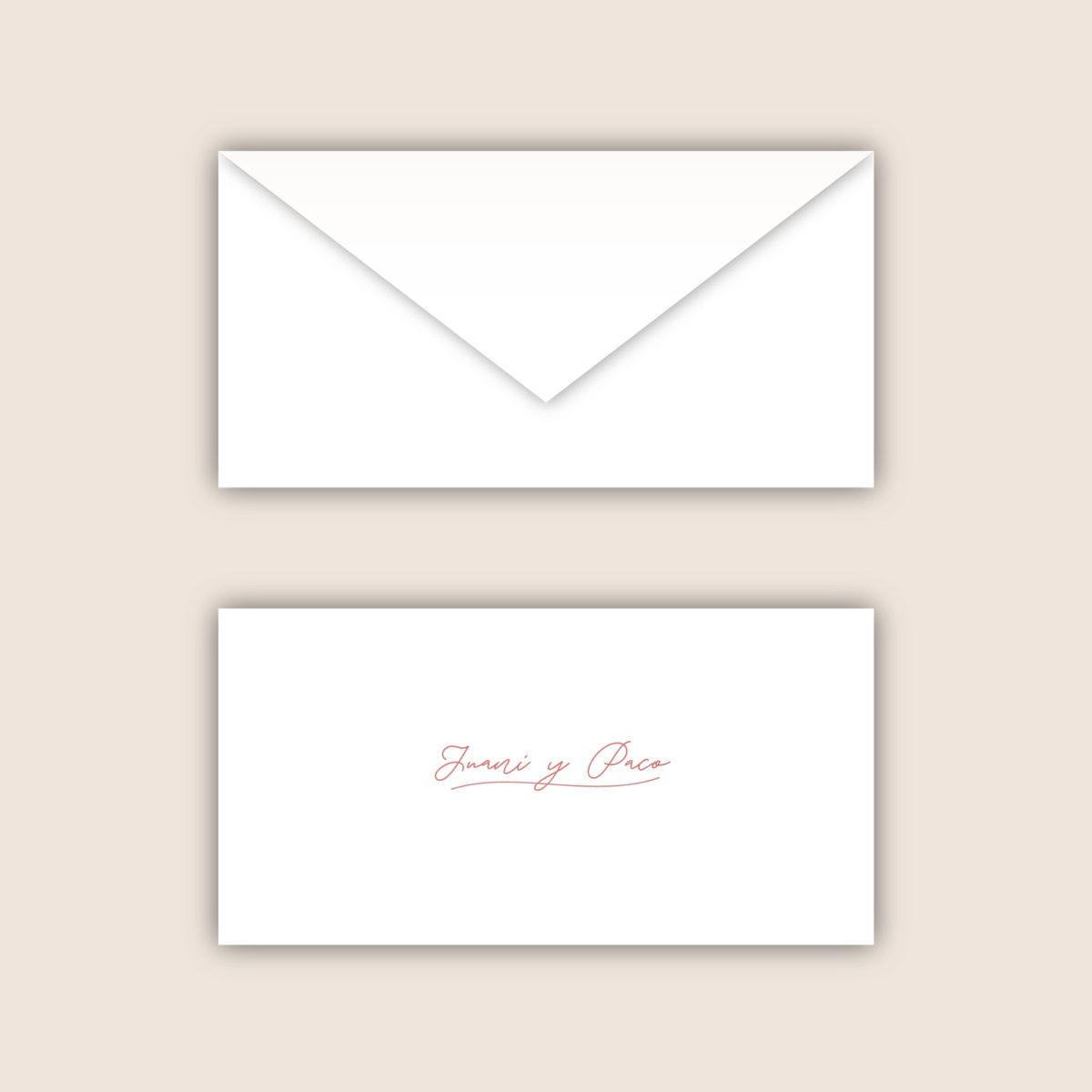 Invitación-sobre Moderna