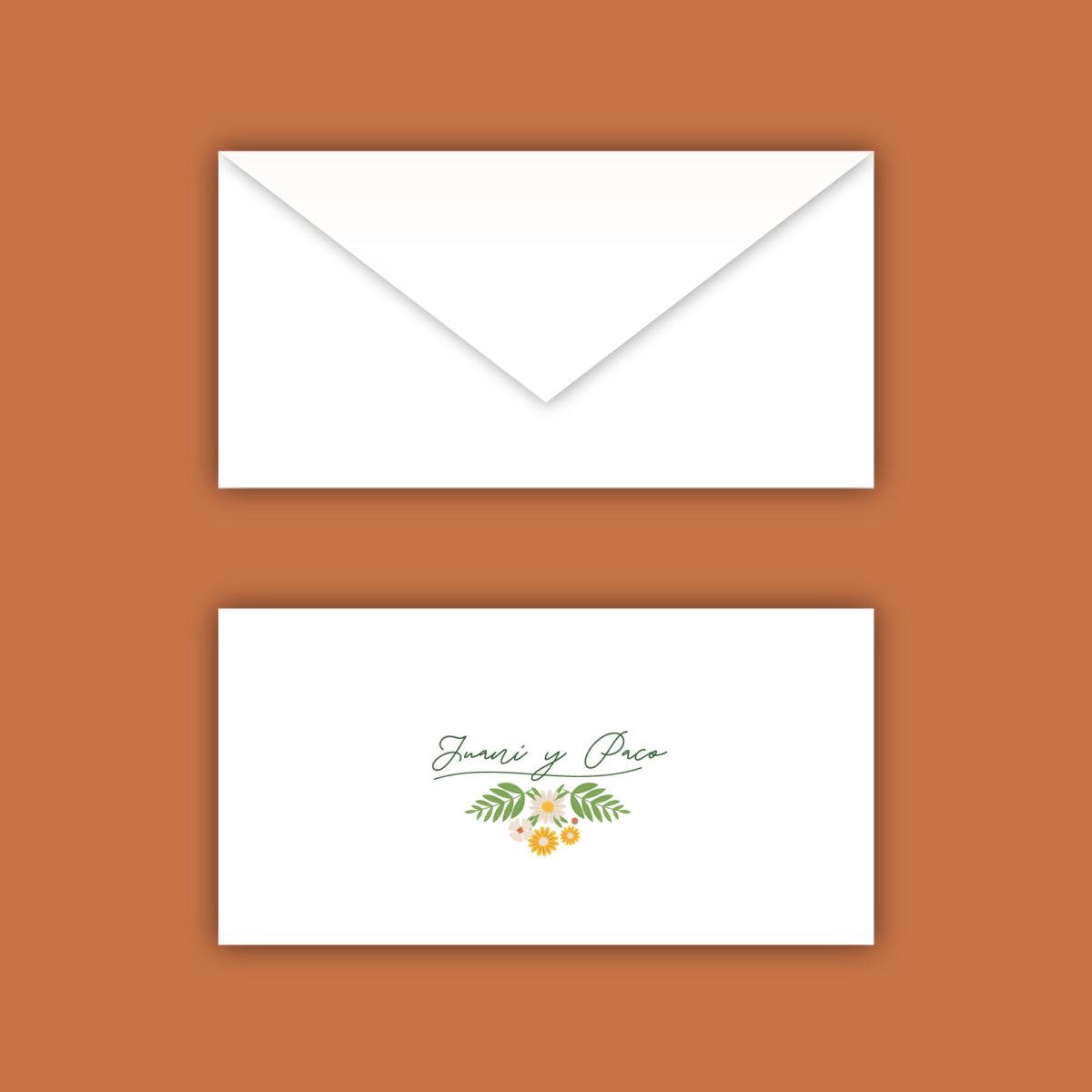 Invitación-sobre Silvestre
